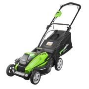 Аккумуляторная газонокосилка Greenworks G40LM45 2500107