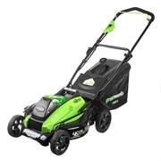 Аккумуляторная газонокосилка Greenworks GD40LM45K4 2500407UB