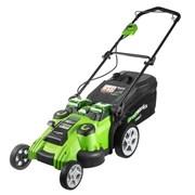 Аккумуляторная газонокосилка Greenworks G40LM49DB 2500207