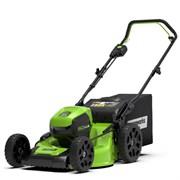 Аккумуляторная самоходная газонокосилка Greenworks GD60LM46SPK4 2502907UB