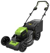 Аккумуляторная самоходная газонокосилка Greenworks GD80LM46SPK4 2501007UB