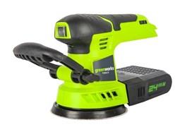 Аккумуляторная шлифмашинка Greenworks G24ROS 3100107