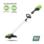 Аккумуляторный триммер Greenworks GD60LTK4 2103207UB