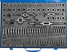 Набор метчиков и плашек Зубр Профессионал M2-M18, 110 предметов 28110-H110