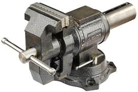 Многофункциональные слесарные тиски Зубр Эксперт с поворотом в двух плоскостях 100мм 32712-100