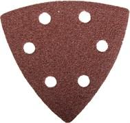 Универсальный шлифовальный треугольник Зубр Мастер Р80,93мм, 5шт 35583-080