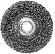 Дисковая щетка для станка Зубр Профессионал 100х12,7мм 35185-100_z02
