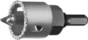 Коронка-чашка Зубр Профессионал c карбид-вольфрамовым нанесением 32мм 33360-032_z01