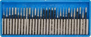 Набор мини-насадок Зубр Профессионал с алмазным напылением 30 предметов 33383-H30