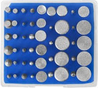 Набор мини-насадок Зубр Профессионал с алмазным напылением 50 предметов 33383-H50