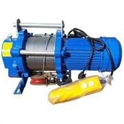 Электролебедка Euro-Lift KCD 1000/2000 380v, 100/50м