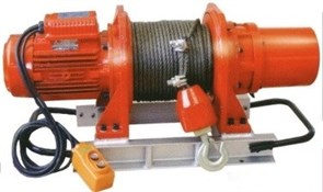 Электрическая лебедка Euro-Lift KDJ-1000E1 1000кг, 60м