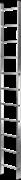 Алюминиевая приставная лестница Новая Высота NV 121 10 ступеней 1210110