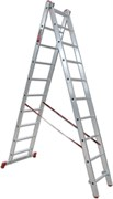 Двухсекционная лестница Vira 2х10