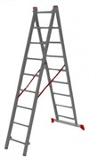 Двухсекционная лестница Vira 2х9
