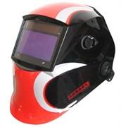 Сварочная маска Хамелеон Aurora SUN-7 Красно-черная