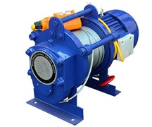 Электрическая лебедка Zitrek KCD-500/1000/220v 60м 001-5424