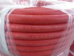 Сварочный рукав Zitrek 9мм (40 м), I кл, красный 079-0727