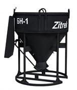 Бадья-лоток для бетона Zitrek БН-1.0 021-1063