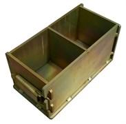 Форма куб для изготовления контрольных образцов бетона Zitrek 100х100х100 мм 025-0000-1