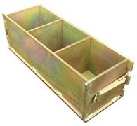 Форма куб для изготовления контрольных образцов бетона Zitrek 70,7х70,7х70,7 мм 025-0005-1