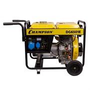 Дизельный генератор Champion DG6501E