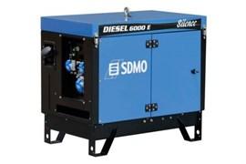 Дизельный генератор Kohler-SDMO DIESEL 6000 E SILENCE