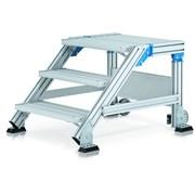 Лестница-подмость Zarges, наклон 45°, 2 ступени 40855520