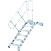 Лестница с площадкой Zarges, наклон 45°, 17 ступеней 40155456