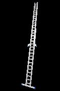 Двухсекционная раздвижная лестница с перекладинами Krause Stabilo 2х18 133359/123176