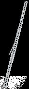 Алюминиевая выдвижная лестница Krause Stabilo 3х18 800770 (810021)