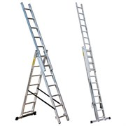 Лестница трехсекционная Профи 3x18