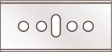 Промышленные лезвия NO. 45 Martor 45.60