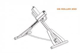 Роликовая опора RITMO HS Roller 250 87568600