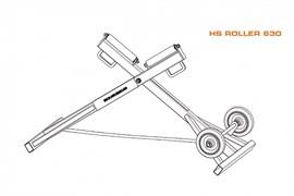Роликовая опора RITMO HS Roller 630 87568602