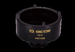 """Сервисная головка KING TONY для монтажа/демонтажа подшипников TMFS8 1/2"""", 58 мм 44K758M"""