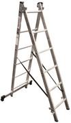 Алюминиевая двухсекционная лестница Новая Высота NV 122 2x6 1220206
