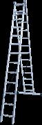Алюминиевая двухсекционная лестница Новая Высота NV 122Y 2x13 1220213Y