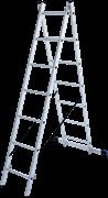 Алюминиевая двухсекционная лестница Новая Высота NV 122Y 2x7 1220207Y