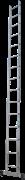 Алюминиевая приставная лестница Новая Высота NV 121 15 ступеней 1210115