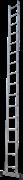 Алюминиевая приставная лестница Новая Высота NV 121 16 ступеней 1210116