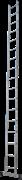 Алюминиевая приставная лестница Новая Высота NV 121 17 ступеней 1210117