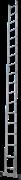 Алюминиевая приставная лестница Новая Высота NV 121 18 ступеней 1210118