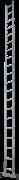 Алюминиевая приставная лестница Новая Высота NV 121 20 ступеней 1210120