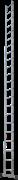 Алюминиевая приставная лестница Новая Высота NV 121 22 ступени 1210122