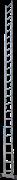 Алюминиевая приставная лестница Новая Высота NV 121 24 ступени 1210124