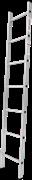 Алюминиевая приставная лестница Новая Высота NV 121 7 ступеней 1210107