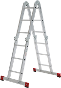 Алюминиевая лестница трансформер Новая Высота NV 1323 4х4 1323404