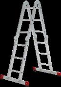 Алюминиевая лестница трансформер Новая Высота NV 1323 4х5 1323405
