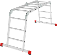 Алюминиевая лестница трансформер Новая Высота NV3321 4х3 3321403